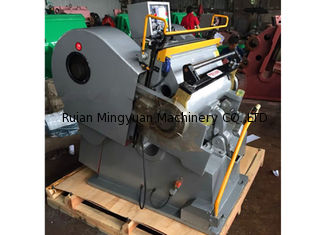 Cina High Pressure Paper Die Cutting Machine , Paper Die Cutting Equipment Compact Structure pemasok