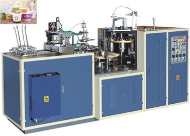 Cina High Efficiency Paper Bowl Making Machine Customized Speed 25 - 35 Cups Per Min pemasok