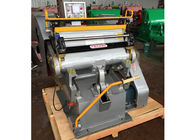 Cina Semi Automatic Paper Die Cutting Machine High Strength With Electrical System pabrik