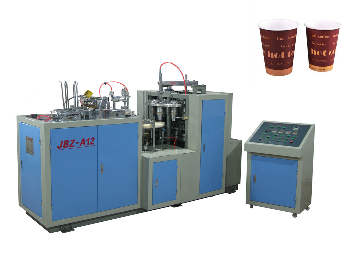 Efficient Green Laminated High Speed Paper Cup Machine Long Lasting Universal