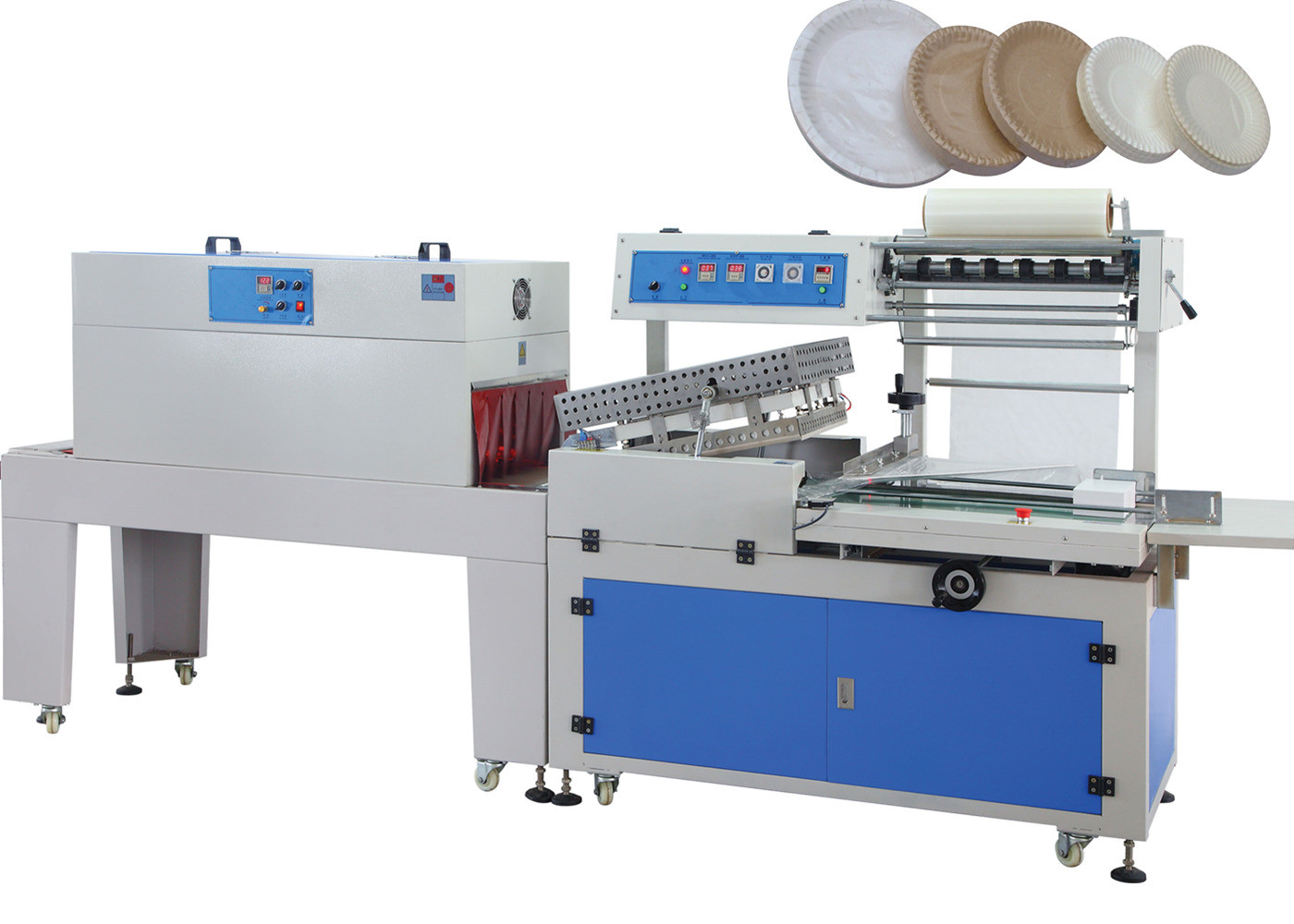 380V Automatic Shrink Wrapping Machine For Bottles , Shrink Wrap Equipment 50HZ - 60 HZ