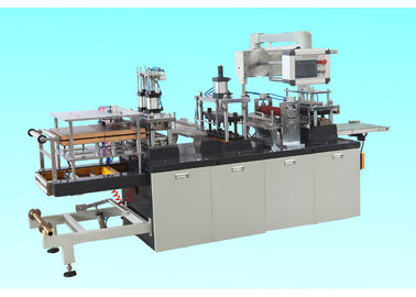 Cina Professional Plastic Lid Forming Machine For Ice Cream Cup / Coffee Paper Cup Distributor