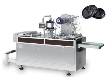 High Power Plastic Cup Lid Forming Machine Disesuaikan Hemat Energi