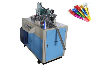 Cina Full Auto Paper Horn Forming Machine Custom Printed CE Certification Distributor